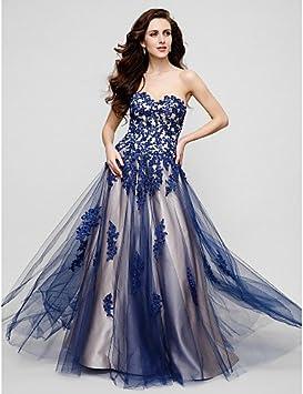 UDress Ropa de Noche Largo Elegante 2016 formeller Noche/Gala vestido a de línea corazón