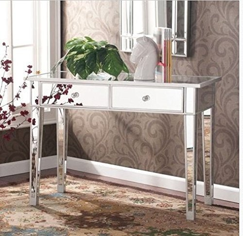 - Mirrored Vanity Make-Up Table