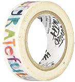 Bella Blvd 1268 Illustrated Faith Basics Washi Tape, Wow God, Multicolor