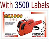 Hongsheng MX-5500 Price Printer Label Gun 8 Digits with labels (Color as per availability) (3500)