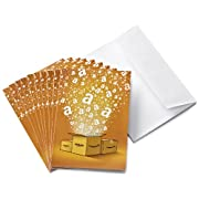 Buy a pack of 3 or 10 Amazon.co.uk Gift Cards affixed inside greeting cards