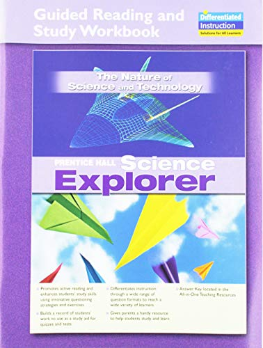 SCIENCE EXPLORER NATURE OF SCIENCE GUIDED READING AND STUDY WORKBOOK    2005