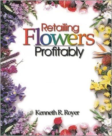 Retailing Flowers Profitably Books
