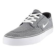 Nike Men's SB Clutch Premium Black/White/Gum Light Brown Skate Shoe 10 Men US