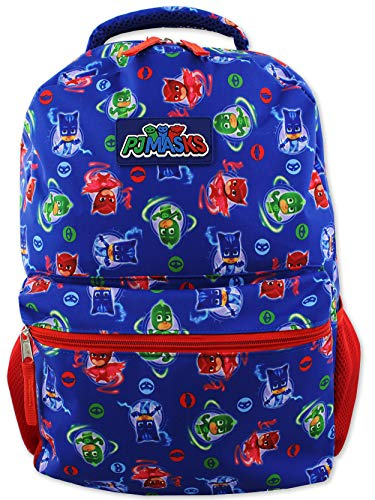 Disney PJ Masks Boy's 16 inch School Backpack (One Size, Blue)