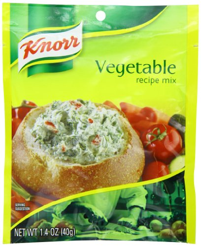 Knorr Recipe Mix, Vegetable 1.4 oz (Pack of 12) (Spring Soup Vegetable)