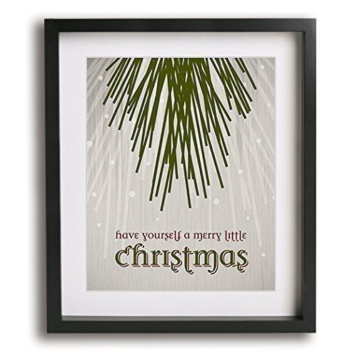 have yourself a merry little christmas inspired song lyric art print - Have Yourself A Merry Little Christmas Lyrics