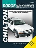 Chilton's Dodge Durango/Dakota 2001-04 Repair Manual, Jay Storer, 1563927055