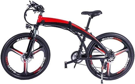CZALBL Scooter eléctrico, Scooter eléctrico y Bicicleta Combinados ...