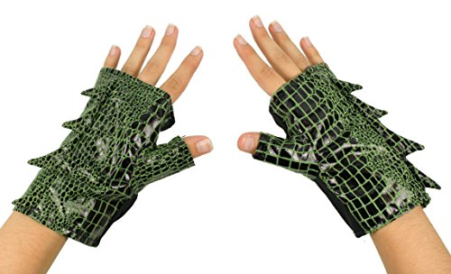 Dragon Costume Cuff Gloves (Dragon Lord Adult Costumes)
