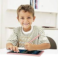 NOBES Tableta de Escritura LCD 8.5 Inch 8.5 Inch, Grey LCD Tablero de Dibujo Gr/áfica Pizarra Magica de Mensaje Memo Pad Electr/ónico con L/ápiz Regalos para Ni/ños,Clase,Oficina,Casa,Cocina