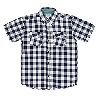 Company 81 Multi Color Cotton Shirt Neck Shirts For Boys
