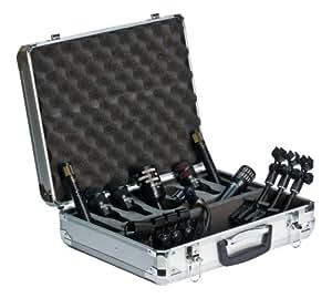Audix DP 7 - Pack de micrófonos, batería, color negro