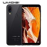 "UMIDIGI Unlocked Phone A3 5.5"" 16GB Unlocked Smartphone Android 8.1-2GB Ram Triple Slot, 2 NanoSIMs+Micro-SD 12MP + 5MP Dual Camera Fingerprint ID 3300mAh Battery (Black)"