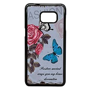 Beautiful Butterfly Image On Back Phone Case For Samsung Galaxy S6 Edge Plus