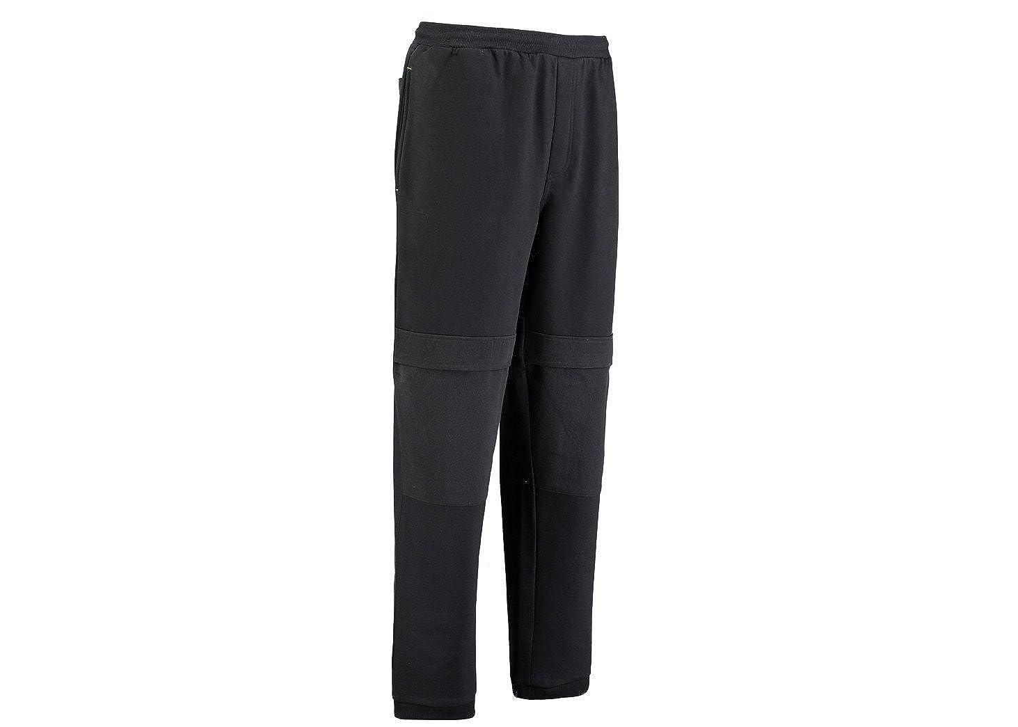 84ca600a66 Rhino Black Fleece Joggers Work Trousers With Knee Pad Pockets |  PMU006XLBlack: Amazon.co.uk: Clothing