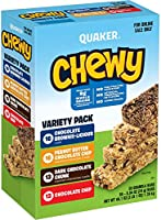 Quaker Chewy Dipps Chocolatey Covered Granola Bars