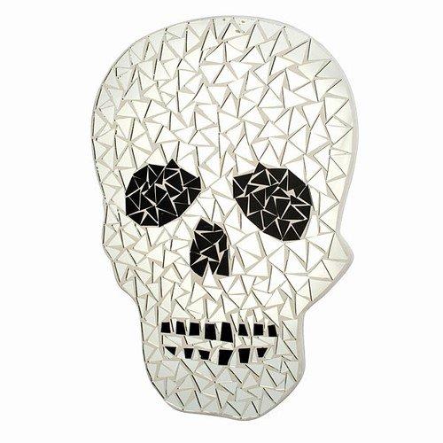 (World Buyers Skull Mosaic Mirror 11x15.5 11x15)