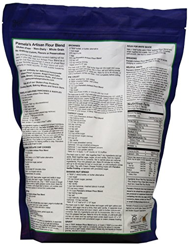 Pamela's Products Gluten Free All Purpose Flour Blend, 4 Pound by Pamela's Products (Image #3)