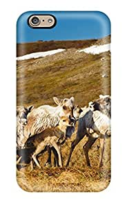 Tpu Case For Iphone 6 With Caribou In The Arctic Tundra