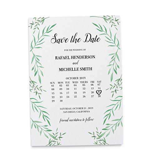 Wedding Rsvp Custom Announcements (LoveAtEverySight Save the Date Cards