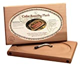 Nature's Cuisine NC001 Large Cedar Oven Roasting Plank with Wrench, 17 by 10-1/2-Inch