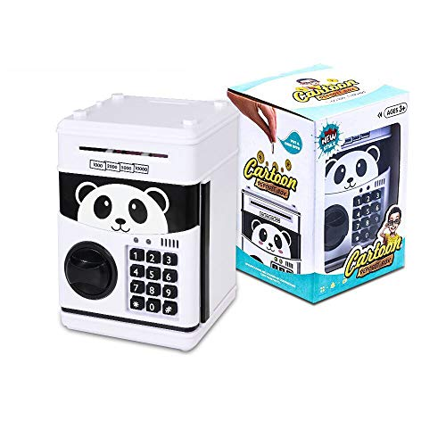 Bcamelys Piggy Bank for Boys and Girls, White Panda