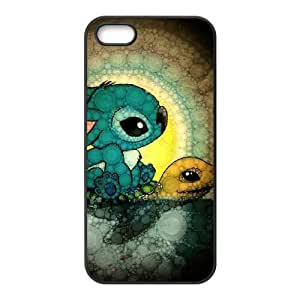 iPhone 4 4s Cell Phone Case Black Lilo with Stitch JSK922427