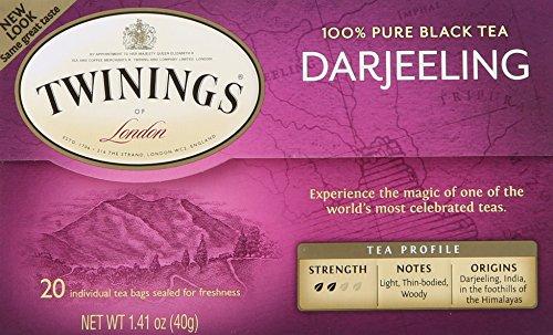 Twinings Darjeeling Tea - Twinings of London Darjeeling Tea Bags, 20 Count