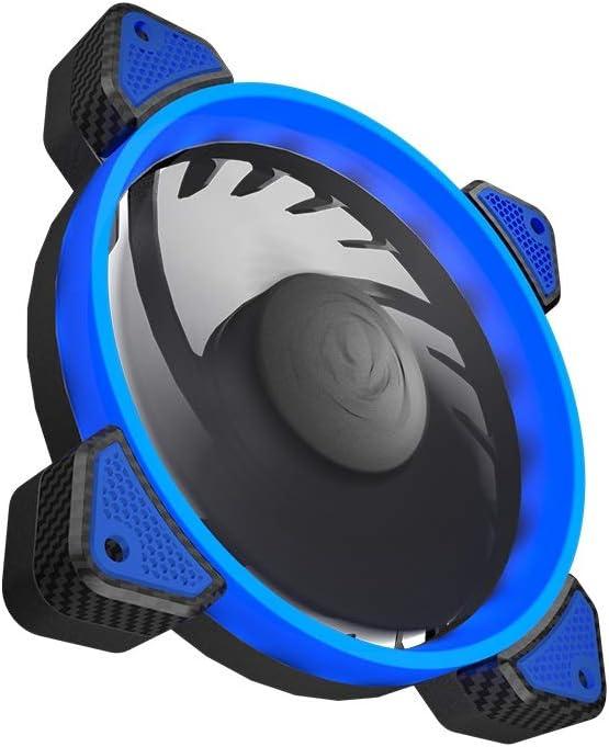 FB 120 Blue COUGAR Hydraulic Vortex LED 120 mm Cooling Fan