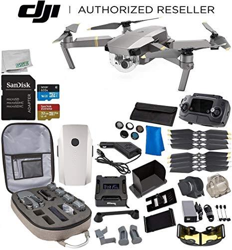 DJI Mavic Pro Platinum Collapsible Quadcopter 1-Battery Ultimate Bundle