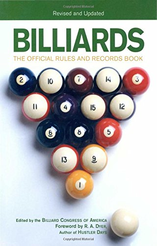 Billiards; Revised and Updated: The Official Rules And Records Book
