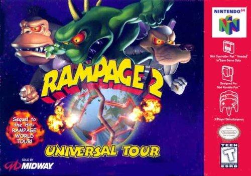 Rampage 2: Universal Tour (Pc Rampage)