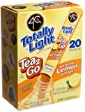 4C Totally Light Tea 2 Go Lemon Ice Tea Mix, Sugar Free, 20-Count Boxes (Pack of 3)