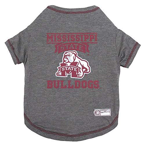 NCAA Mississippi State Bulldogs Dog T-Shirt, Medium