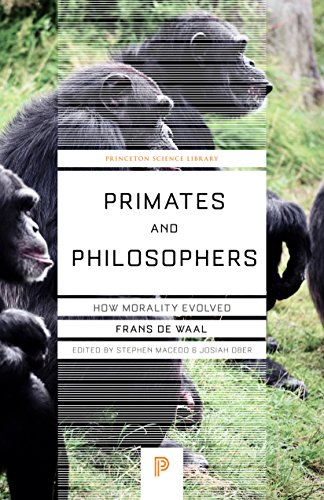 Primates and Philosophers: How Morality Evolved Pic