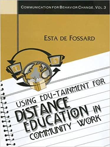 Using Edu-Tainment for Distance Education in Community Work (Communication of Behavior Change)