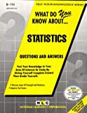 What Do You Know about Statistics?, Rudman, Jack, 0837371139