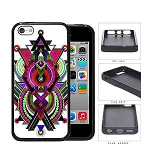 Cool Abstract Tribal Nebula Design iPhone 5c Rubber Silicone TPU Cell Phone Case wangjiang maoyi