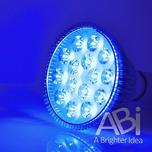 ABI 12W Blue LED PAR38 Grow Light for Aquarium and Plant Growth (450-460nm) by ABI
