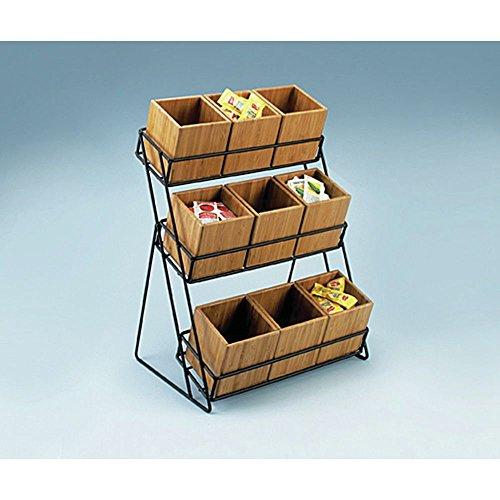 Cal-Mil Bamboo Box Insert - 4'' L x 4'' W x 4'' H by ALC