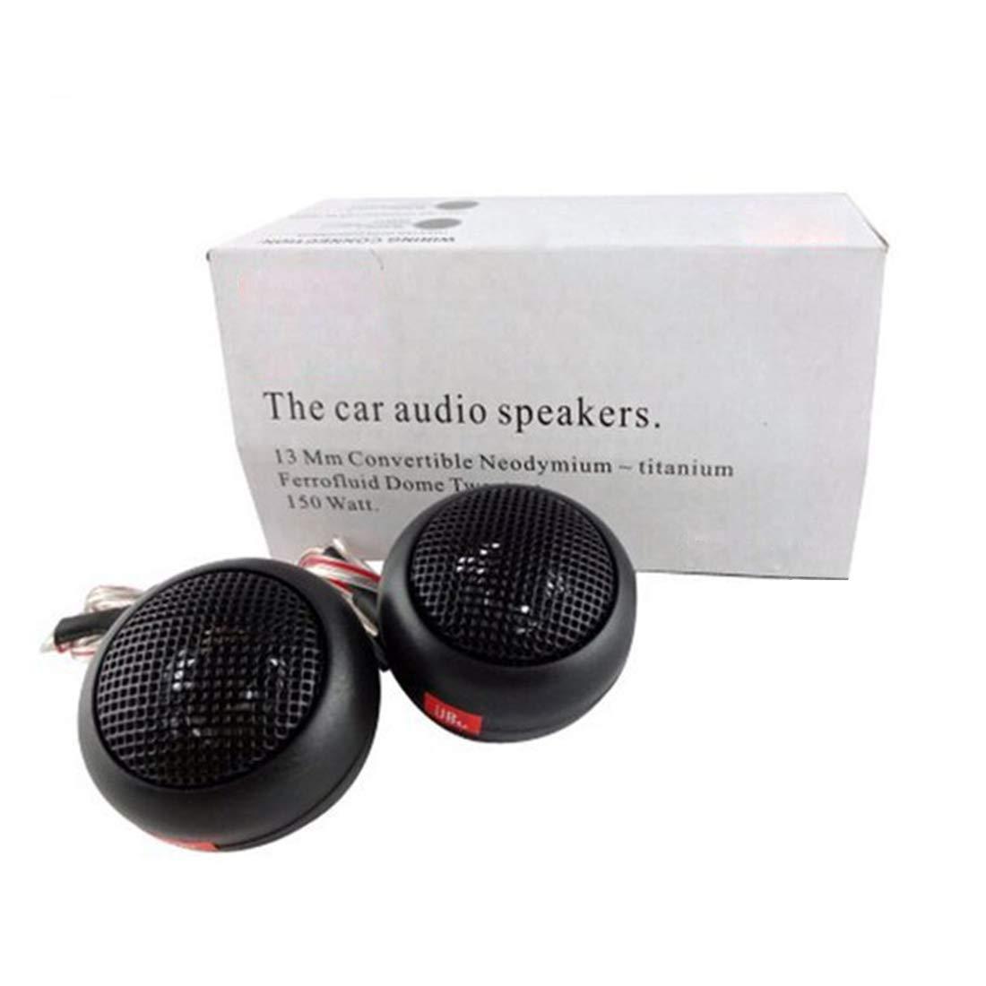 Car Tweeter Speaker Silk Dome Tweeters Audio Component Tweeters Premium Speaker System 1-Inch Tweeter Kit Original Sound Playback Simple to Install ZYHW 5558986787