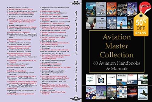 (Aviation Master Collection 60 Aviation Handbooks & Manuals)