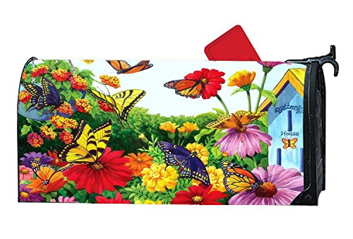 Personalized Magnetic Mailbox Cover Dreams Flowers Garden Bu