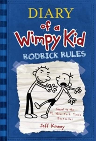 Diary Of A Wimpy Kid Rodrick Rules Kinney Jeff 9780810994737 Amazon Com Books