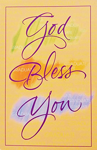 God Bless You on your Graduation Day - Greeting Card -