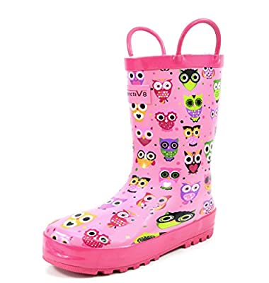Arctiv8 HARLEY Kids Rubber Outdoor Waterproof Pull On Rain Boots New (Toddler/Little Kid/Big Kid)