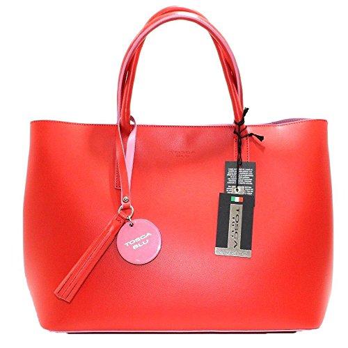 Tosca Tosca red Bag Shoulder Blu Red Blu Women's F5Pn5qd
