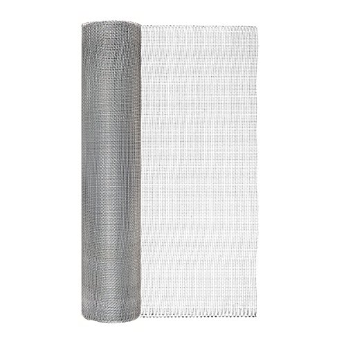 (Garden Zone 24 Inches x 50 Feet - 1/8-Inch Openings - Galvanized Steel Wire Rolled Hardware Cloth - For Fencing Around Chicken Coop, Run, and Gardens)