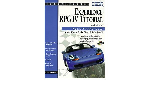 Experience rpg iv: tutorial [full].